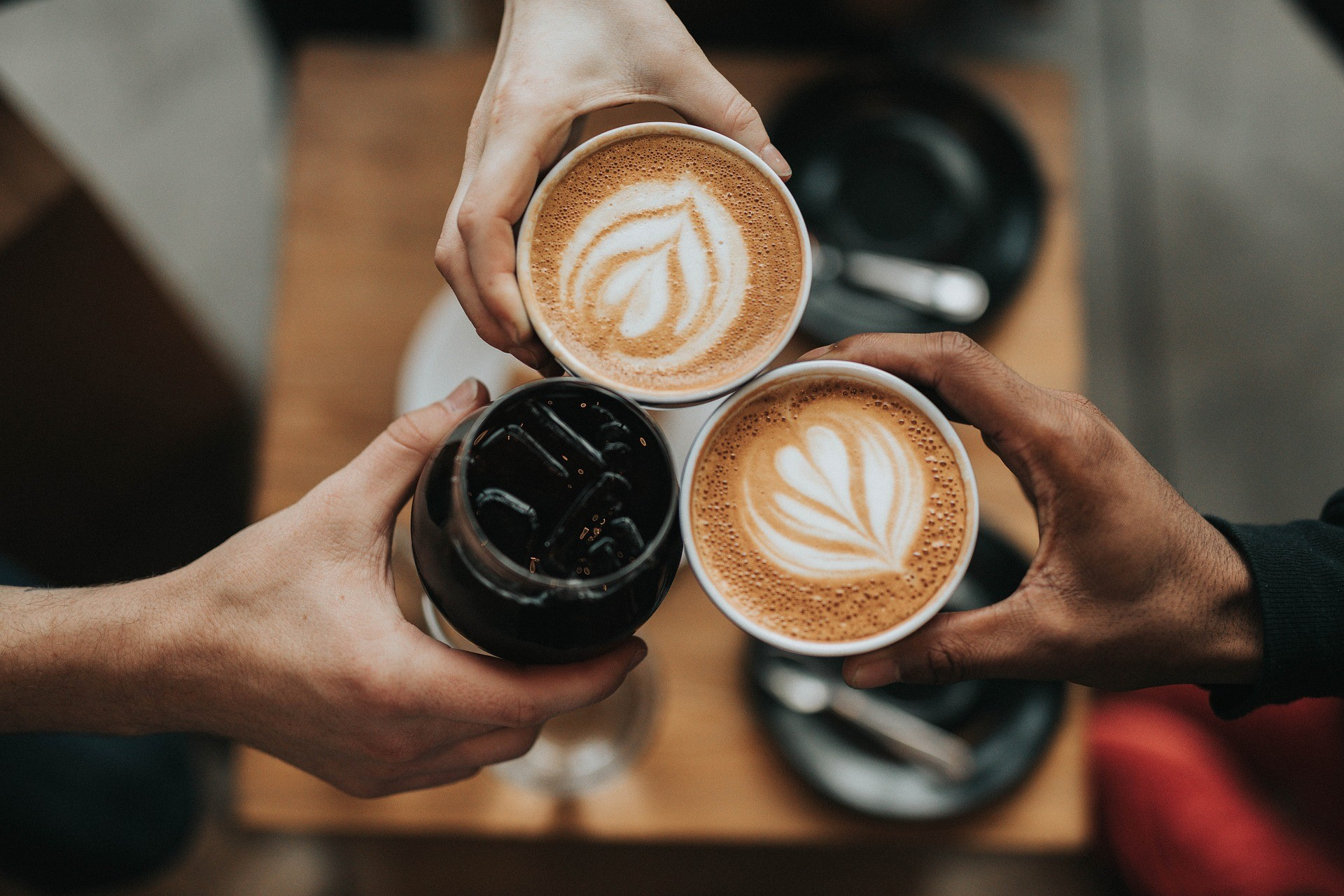 competitive advantage: connect over coffee